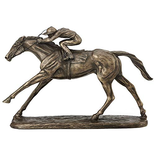 Fiesta Studios On The Flat von Harriet Glen Bronzefigur, 16 cm hoch