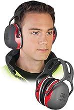 3M Peltor Gehoorbescherming X3A hoofdbeugel SNR 33 dB zwart-rood