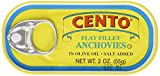 Cento Flat Anchovies in Olive Oil, 2 Ounce