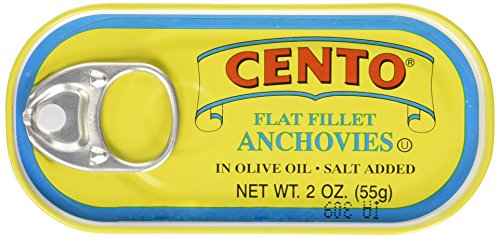 Cento Flat Anchovies in Olive Oil