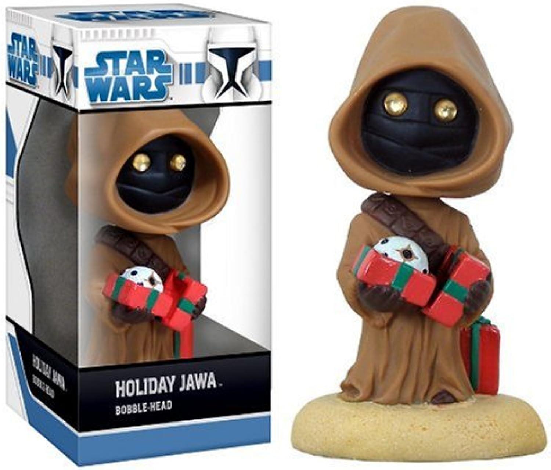 STAR WARS - Figurine Bobble head Jawa Holiday 12 cm