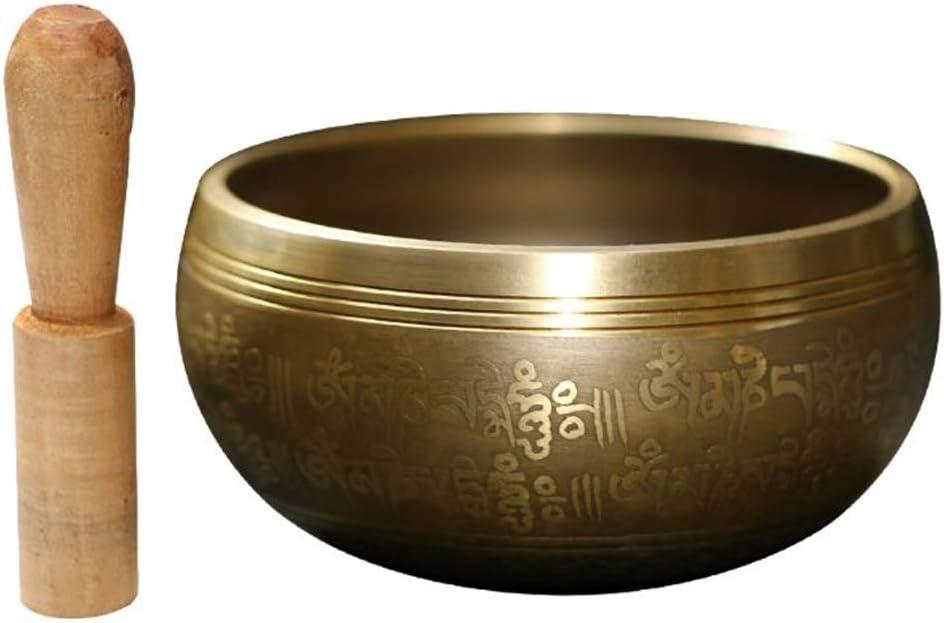 ZLDGYG ZMSGZ Nepal OFFer Tibetan Singing Bowl Set Cheap Buddhist with Stick
