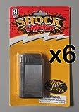ROCKYMART (LOT of 6) Shock Prank Lighter Gag Joke Trick Looks Real Party Novelty RM2605