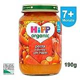 HiPP Organic Pasta Italienne with Ham 7+ month 190g - Pasta mit Schinken