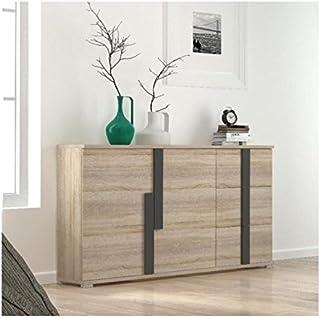 Mueble aparador de Comedor Link de 150 cm. con 2 Puertas y 3 cajones