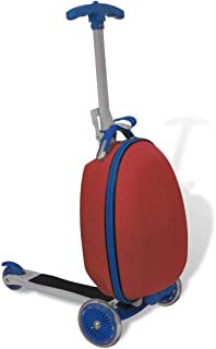 Festnight Red Scooter for Kids with Front Luggage Box 30 x 23 x 40 cm