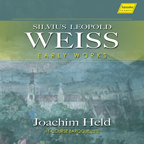 Silvius Leopold Weiss : uvres de jeunesse pour luth. Held.