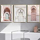 Allah Islamische Wandkunst Leinwand Poster Marokko Tür