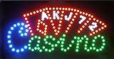 CHENXI Bière Pub Jeux de Casino Poker Barre LED Sign Neon Light Sign Display 4851,4cm Utilisation en intérieur Moderne 48 X 25 CM a