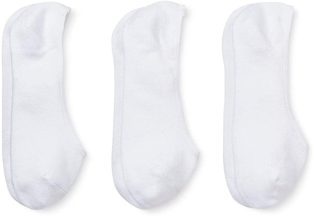 Fruit Of The Loom Womens 3 Pack Everyday Active Liner Socks