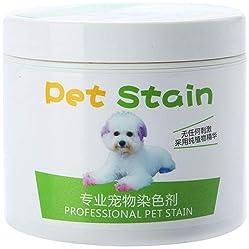 HEART SPEAKER 100ml Cat Dog Professional Pet Stain Anti Allergic Hair Dye Cream Coloring Agent
