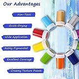 Immagine 1 set di colori acrilici per