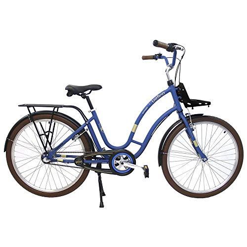 Bicicleta Aro 26 Retrô Anthon 3v Nexus Shimano Azul