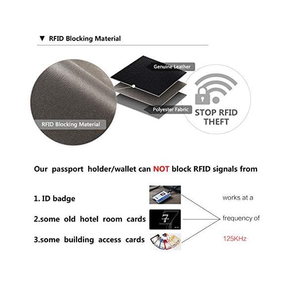 BOSTANTEN Leather Wallets for Women RFID Blocking Zip Around Credit Card Holder Phone Clutch 4