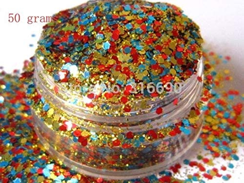 Gabcus SEAL limited product Solvent Resistant Glitter quality assurance Mix Art Glitte Multi Nail Color