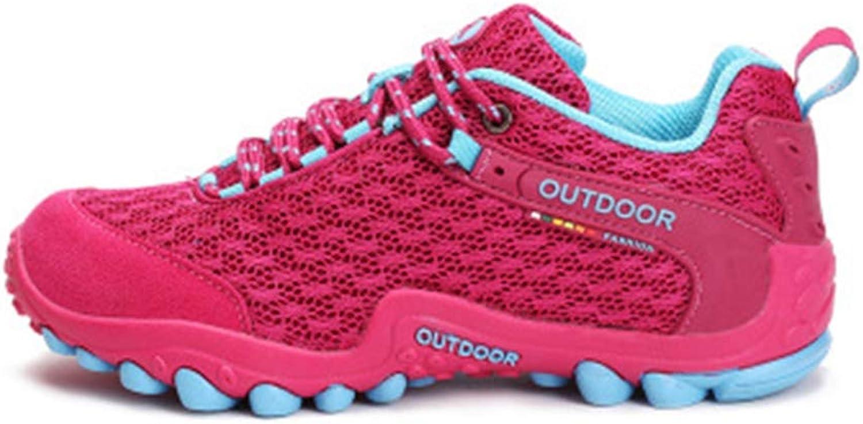 GIY Women's Lightweight Mesh Hiking shoes Outdoor Running Trail Hiker Non-Slip Casual Climbing shoes