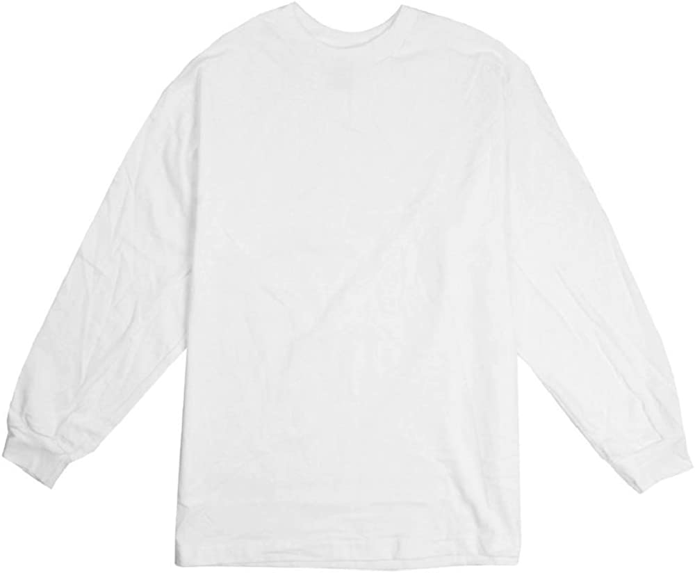 Beefy Long Sleeve Tees Big and Tall USA Made T-Shirts in Vibrant Colors