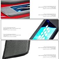エンブレムパテン炭素スレッショルドペダル付き4本のステンレス鋼の屋外ドアしきい値に合わせた自動車の木のためのスカラ抵抗板2017 2017 2017 2017,青い