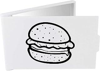 'Burger' Compact / Travel / Pocket Makeup Mirror (CM00024306)