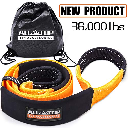 ALL-TOP Pro-Series Tree Saver Winch Strap 3