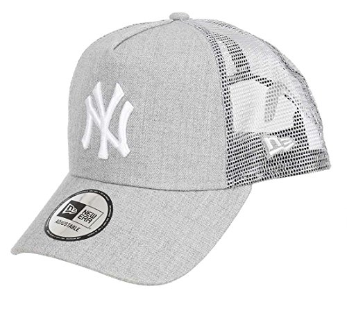 New Era MLB Heather Truck Neyyan HGR Kappe, Grey/Gris, Einheitsgröße