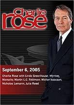 Charlie Rose with Linda Greenhouse; Wynton Marsalis; Martin L.C. Feldman; Walter Issacson; Nicholas Lemann; Julia Reed (September 6, 2005)