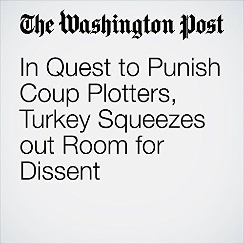 In Quest to Punish Coup Plotters, Turkey Squeezes out Room for Dissent cover art