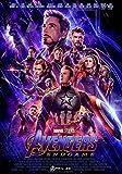 Desconocido Avengers: Endgame Movie Póster Foto Cine Marvel 2019 Iron Man Thanos Película Cartel Oficial 017 (A5-A4-A3) - A3