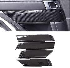 For Land Rover 2014-2020 Range Rover Sport, ABS Door Decoration Cover Frame Trim (Carbon Fiber Style)