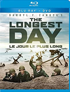 The Longest Day (Bilingual) [Blu-ray + DVD] (B00J09AOHG) | Amazon price tracker / tracking, Amazon price history charts, Amazon price watches, Amazon price drop alerts