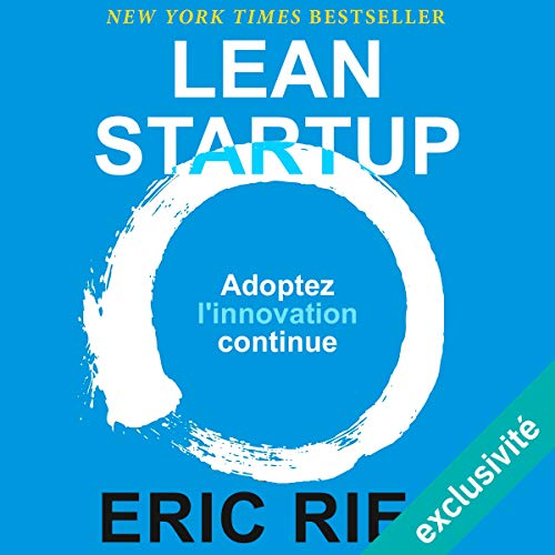 Lean Startup audiobook cover art
