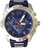 Superman Watch with Stainless Steel Case and Accents on Band (SUP9196)