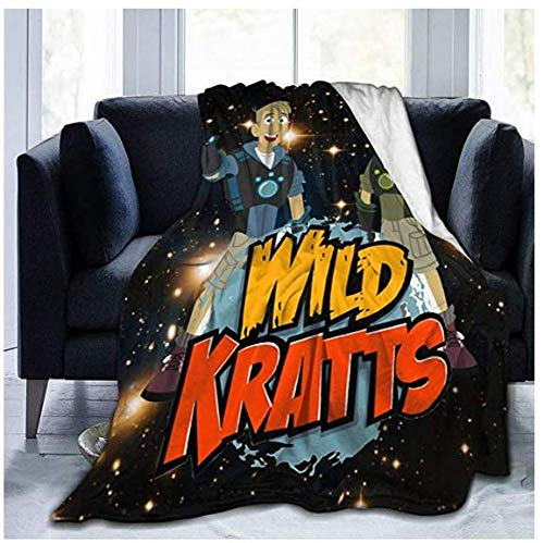 Manta de forro polar de franela de Wịld.Kratts, ligera, acogedora, de microfibra, colchas de cama, sofá suave, mantones y mantas para bebés