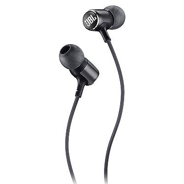 JBL Lifestyle LIVE 100 In-Ear Headphones, Black (Renewed)