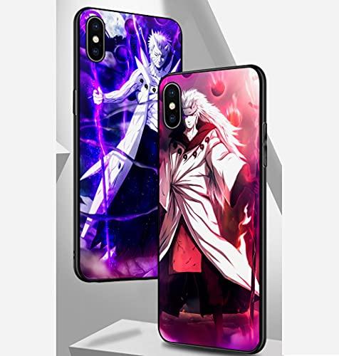 Hunter X Hunter CAS pour iPhone,hxh Étui en Verre Trempé pour iPhone pour Les Fans D'anime,Hisoka B iPhone 7/8