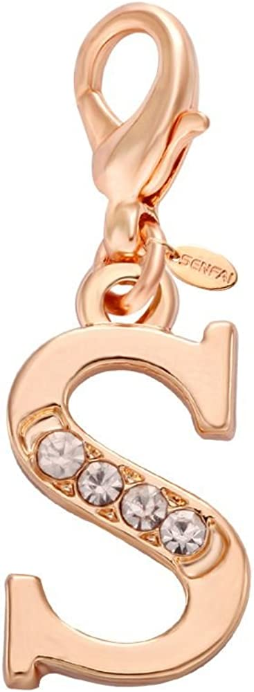 SENFAI 26 Alphabet English Letters Initial Ch Name Overseas parallel import regular item Max 87% OFF First Crystal