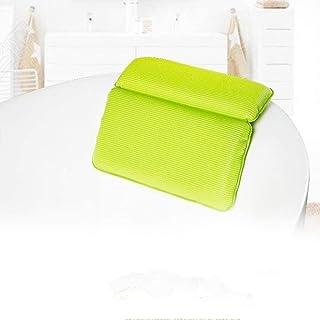 KUNXIAOY Bathtub Pillow with 7 Suction Cups,Bathtub Pillow Bath Pillow and Spa Head Rest Bathing Pillows Bath Cushion
