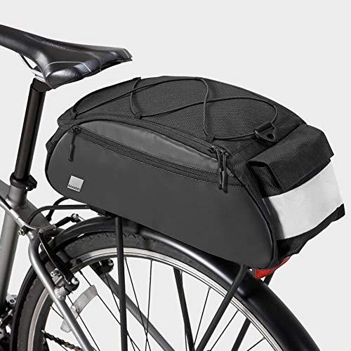 HOMPER Fahrradtasche Satteltasche Gepäcktasche Gepäckträger Tasche Rucksack Seitentasche 10L Mountain Road MTB Fahrrad Radfahren Rücksitztasche
