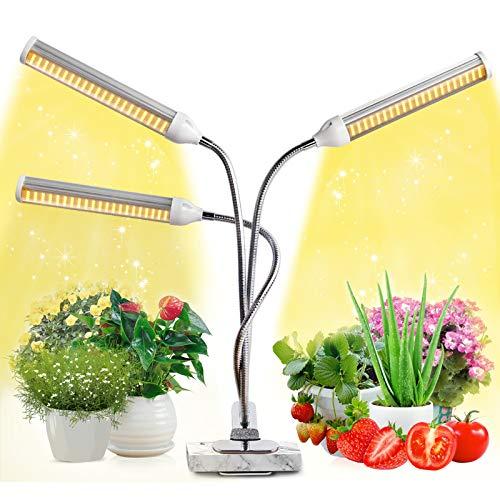 Lampada per Piante, JEVDES 150w Luce per Piante a Spettro Completo da per Piante da Interno Serra Idroponica, Lampada per Coltivazione di Piante (150)