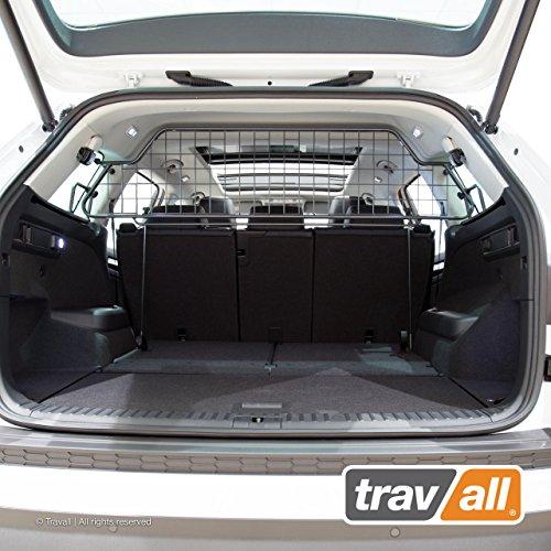 Travall® Guard Hundegitter TDG1551 - Maßgeschneidertes Trenngitter in Original Qualität