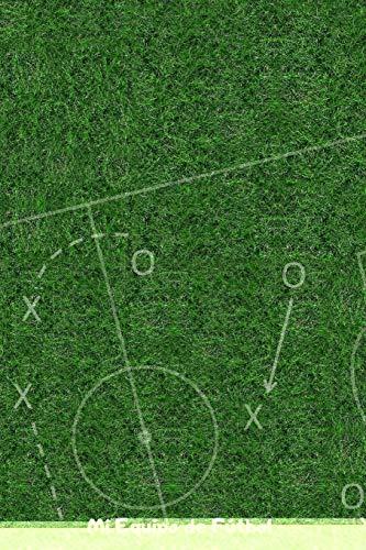Mi Equipo de Fútbol: 110 Páginas para Registrar Entrenamientos o Entrenar Jugadas | Regalo Perfecto para Entrenadores de Fútbol | Con Esquemas de Campos de Fútbol y Espacio para Notas