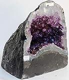 Geode Amethyst Cluster Amatista/Geoda Natural del Brasil - Calidad Extra/Medidas/Measure: 13,15 kg - 26,5 x 22,5 x 23 cm