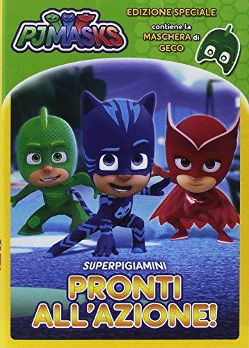 Pj Masks - Super Pigiamini Pronti All'Azione! (Geco Edition) (Dvd+Maschera) [Italia]