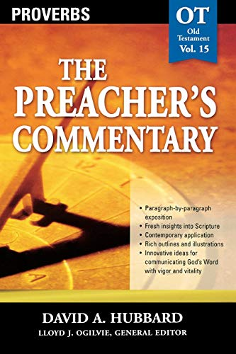 Image of Proverbs (The Preacher's Commentary, Volume 15)