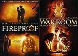 Prayer Is A Powerful Weapon: Fireproof + War Room 2 DVD Faith Based Bundle (Kirk Cameron)