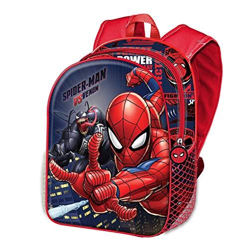 Spiderman Versus-Mochila 3D (Pequeña)