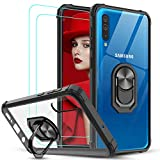 LeYi for Samsung Galaxy A70/A70s Case and Tempered Glass