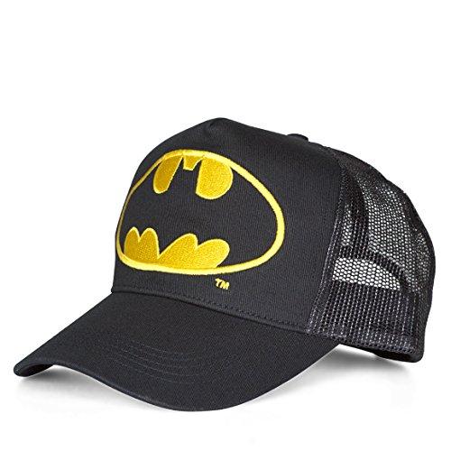 Batman Unisex Logo-Kids Baseball Cap, schwarz, One Size