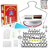 Cake Decorating Supplies - (175 PCS SPECIAL CAKE DECORATING KIT) With 55 PCS Numbered Icing Tips,...