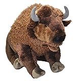 Cuddlekins-Bisonte de Peluche, 76 cm, Color marrón, (Wild Republic 19307)